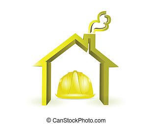 Zuhause im Bau