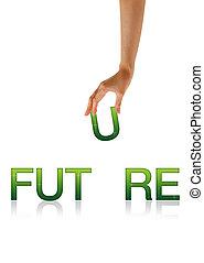 Zukunft - Hand