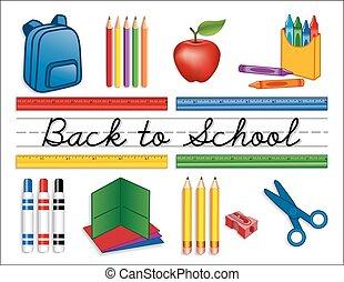 Zurück zu den Schulsachen