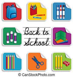 Zurück zu Schulaufklebern