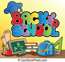 Zurück zum Schulthema 1