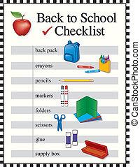 Zurück zur Schulcheckliste