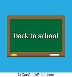 Zurück zur Schule, Blackboard.