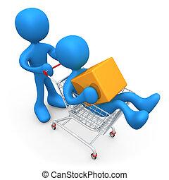 Zusammen einkaufen