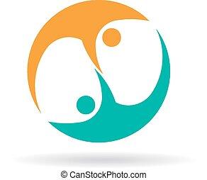 Zwei Leute Logo.