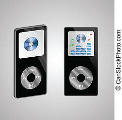 Zwei MP3-Player